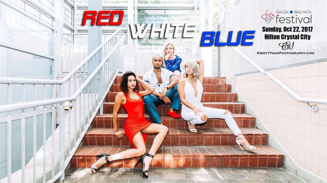 Sun - Red, White, Blue